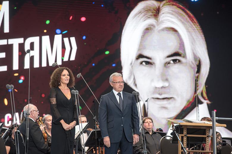 В Красноярске прошел  благотворительный концерт памяти Хворостовского.